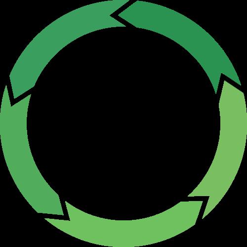 Стилизованный круг из стрелок